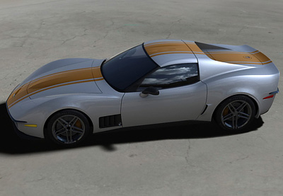 Corvette Stingray  on C3r Corvette Stingray Concept