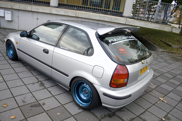 Opinions? Slammed on steelies | ClubCivic.com - Honda ...