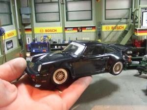 Porsche 911 turbo diorama 107