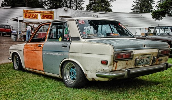 Nissan Of Portland Oregon ~~~NEW~~~1969 Datsun 510 Rat, Resto OR Race Project ...