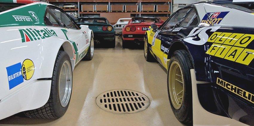 Team mistral racing ferrari 308 gtb modif gr4 for Garage tuning marseille